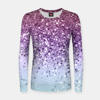 Miniaturka Unicorn Girls Glitter #6 (2019 Version - Faux Glitter) #shiny #pastel #decor #art  Frauen sweatshirt, Live Heroes