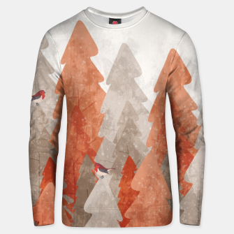 Thumbnail image of The robins and the forest Unisex sweater, Live Heroes