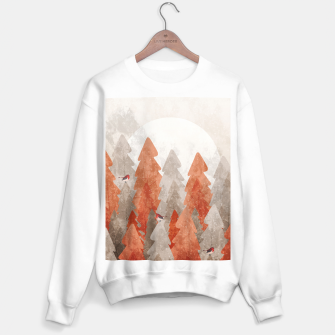 Thumbnail image of The robins and the forest Sweater regular, Live Heroes