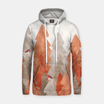 Thumbnail image of The robins and the forest Hoodie, Live Heroes