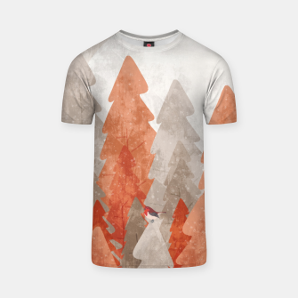 The robins and the forest T-shirt thumbnail image
