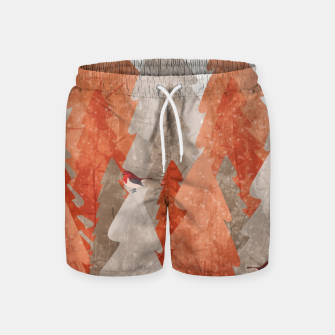 The robins and the forest Swim Shorts thumbnail image