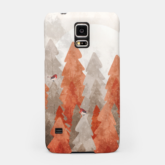 Miniature de image de The robins and the forest Samsung Case, Live Heroes