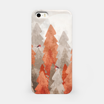 Miniature de image de The robins and the forest iPhone Case, Live Heroes