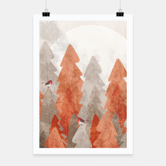 Miniature de image de The robins and the forest Poster, Live Heroes