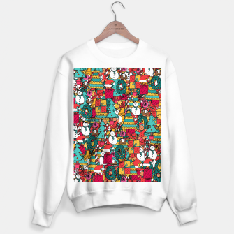 Thumbnail image of Merry Christmas pattern Sweater regular, Live Heroes