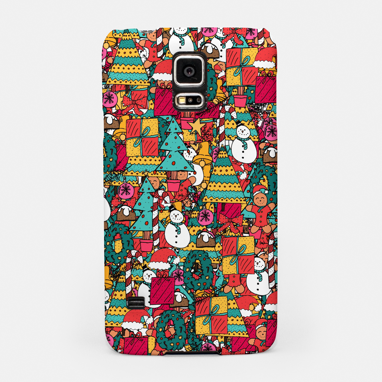 Image of Merry Christmas pattern Samsung Case - Live Heroes