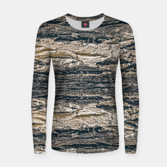 Thumbnail image of Surface Texture Print Women sweater, Live Heroes