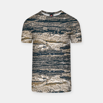 Thumbnail image of Surface Texture Print T-shirt, Live Heroes