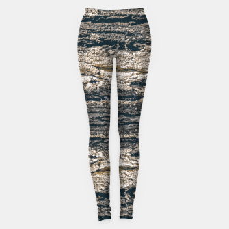 Thumbnail image of Surface Texture Print Leggings, Live Heroes