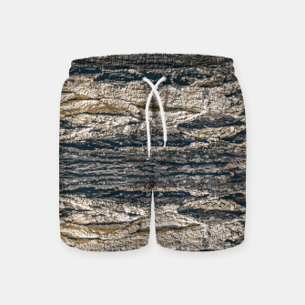 Thumbnail image of Surface Texture Print Swim Shorts, Live Heroes