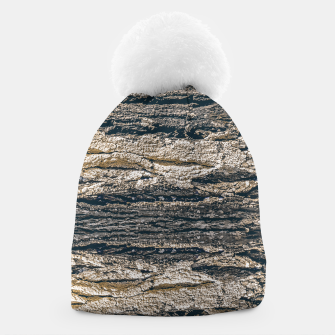 Thumbnail image of Surface Texture Print Beanie, Live Heroes