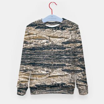 Thumbnail image of Surface Texture Print Kid's sweater, Live Heroes