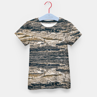 Thumbnail image of Surface Texture Print Kid's t-shirt, Live Heroes