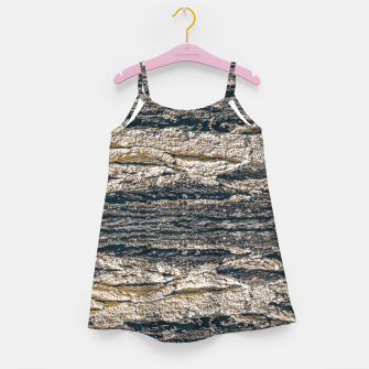 Thumbnail image of Surface Texture Print Girl's dress, Live Heroes