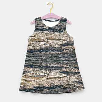 Thumbnail image of Surface Texture Print Girl's summer dress, Live Heroes