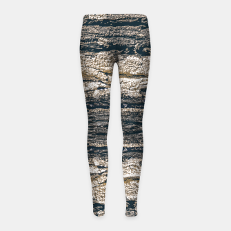 Thumbnail image of Surface Texture Print Girl's leggings, Live Heroes