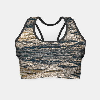 Thumbnail image of Surface Texture Print Crop Top, Live Heroes