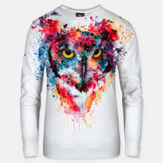 Thumbnail image of Owl Unisex sweater, Live Heroes