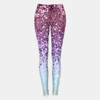 Thumbnail image of Unicorn Girls Glitter #6 (2019 Version - Faux Glitter) #shiny #pastel #decor #art  Leggings, Live Heroes