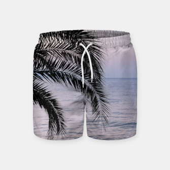 Thumbnail image of Palm & Ocean Dream #3 #tropical #pastel #wall #decor #art Badeshorts, Live Heroes