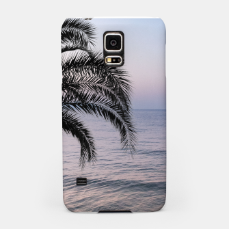 Thumbnail image of Palm & Ocean Dream #3 #tropical #pastel #wall #decor #art Handyhülle für Samsung, Live Heroes