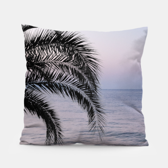 Thumbnail image of Palm & Ocean Dream #3 #tropical #pastel #wall #decor #art Kissen, Live Heroes