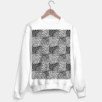 Miniatur Wildlife print Sweater regular, Live Heroes