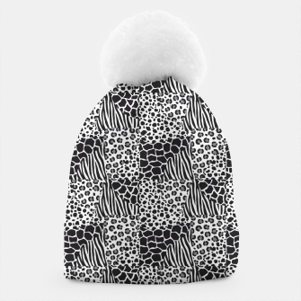 Thumbnail image of Wildlife print Beanie, Live Heroes
