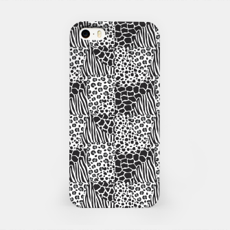 Miniatur Wildlife print iPhone Case, Live Heroes