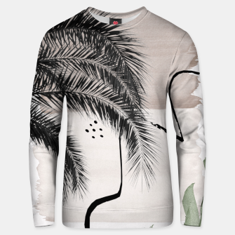Thumbnail image of Banana Palms Abstract - Naturelle #1 #minimal #wall #decor #art Unisex sweatshirt, Live Heroes