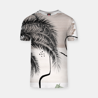 Thumbnail image of Banana Palms Abstract - Naturelle #1 #minimal #wall #decor #art T-Shirt, Live Heroes