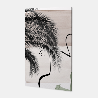 Thumbnail image of Banana Palms Abstract - Naturelle #1 #minimal #wall #decor #art Canvas, Live Heroes