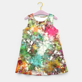 The groovy Girl's summer dress obraz miniatury