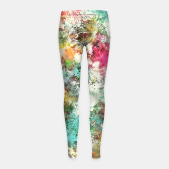 Thumbnail image of The groovy Girl's leggings, Live Heroes