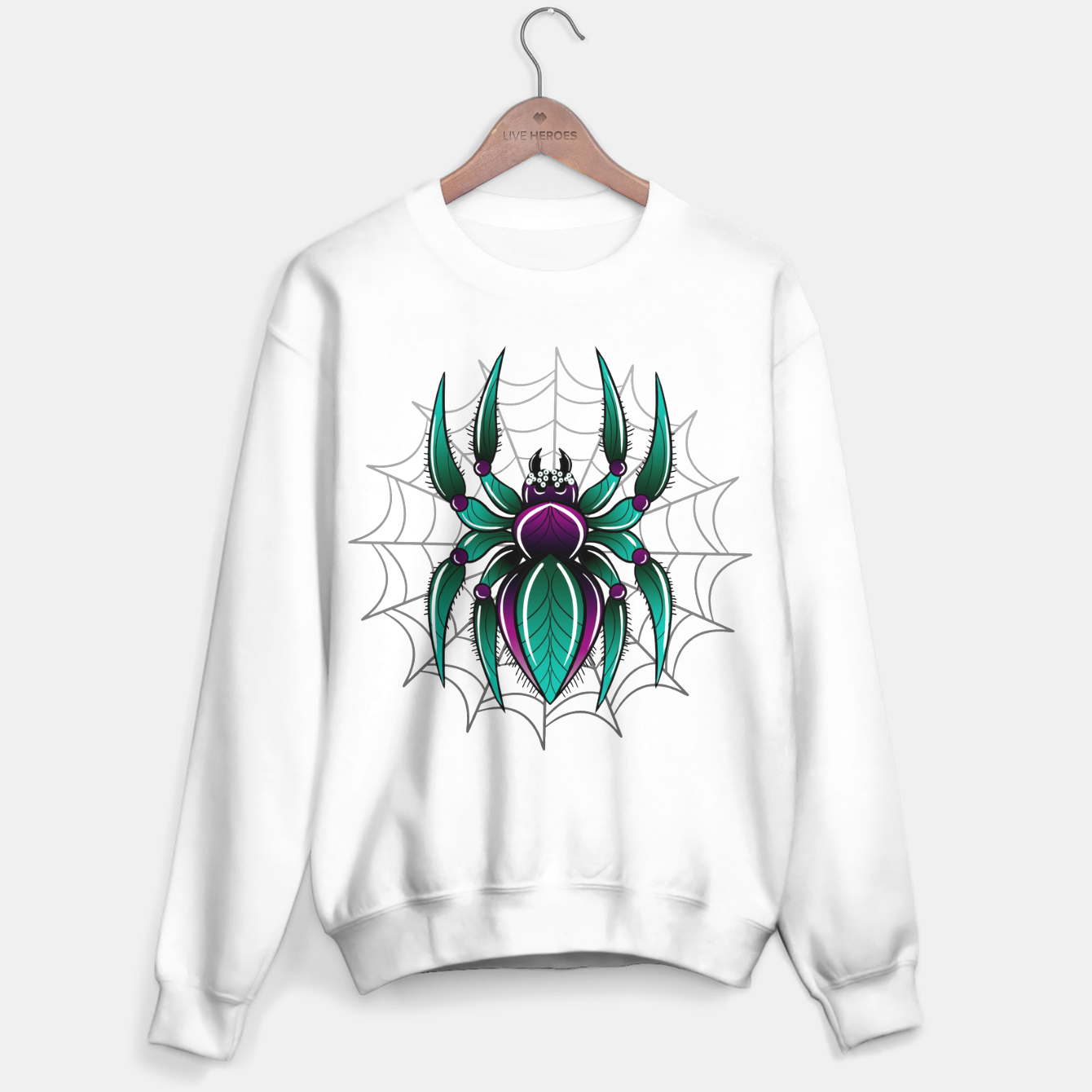 Image of Spider Bluza standard - Live Heroes
