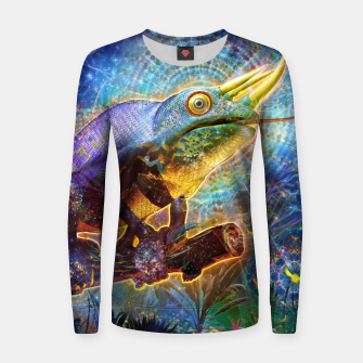 Thumbnail image of Hypnotized Women sweater, Live Heroes