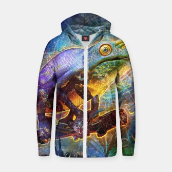 Thumbnail image of Hypnotized Zip up hoodie, Live Heroes