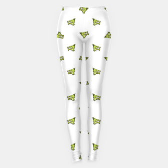 Imagen en miniatura de Werewolf Head Creepy Drawing Pattern Leggings, Live Heroes