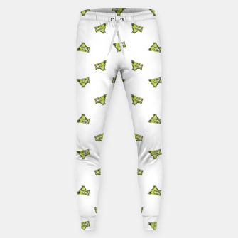 Imagen en miniatura de Werewolf Head Creepy Drawing Pattern Sweatpants, Live Heroes