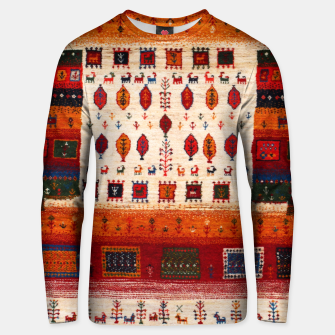 Thumbnail image of Colored Traditional Moroccan Vintage Bohemian Artwork Unisex sweater, Live Heroes