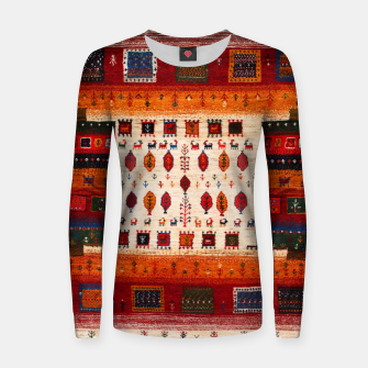 Thumbnail image of Colored Traditional Moroccan Vintage Bohemian Artwork Women sweater, Live Heroes