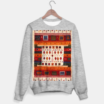 Thumbnail image of Colored Traditional Moroccan Vintage Bohemian Artwork Sweater regular, Live Heroes