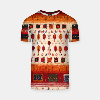Thumbnail image of Colored Traditional Moroccan Vintage Bohemian Artwork T-shirt, Live Heroes