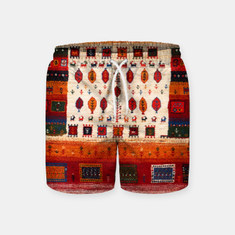 Thumbnail image of Colored Traditional Moroccan Vintage Bohemian Artwork Swim Shorts, Live Heroes