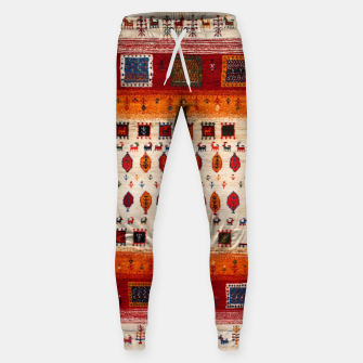 Thumbnail image of Colored Traditional Moroccan Vintage Bohemian Artwork Sweatpants, Live Heroes