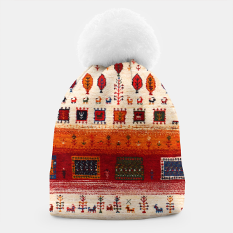 Thumbnail image of Colored Traditional Moroccan Vintage Bohemian Artwork Beanie, Live Heroes