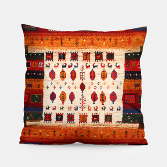 Thumbnail image of Colored Traditional Moroccan Vintage Bohemian Artwork Pillow, Live Heroes