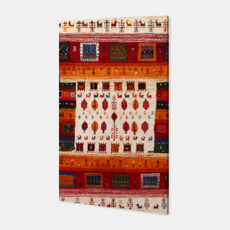 Thumbnail image of Colored Traditional Moroccan Vintage Bohemian Artwork Canvas, Live Heroes