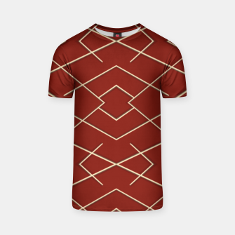 Geometric shapes  Camiseta Bild der Miniatur